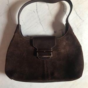 Cole Haan Leather & Suede Shoulder Bag